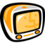 64x64px size png icon of Tangerine