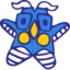 64x64px size png icon of Ultraman Monster