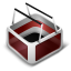 64x64px size png icon of Cart Red