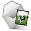 64x64px size png icon of Mail Green