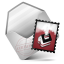 64x64px size png icon of Mail Red