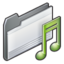 64x64px size png icon of folder   my music