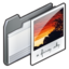 64x64px size png icon of folder   my pictures