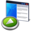 64x64px size png icon of application run