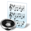 64x64px size png icon of document audio