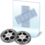 64x64px size png icon of document film
