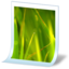 64x64px size png icon of document image bmp
