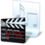 64x64px size png icon of document movie