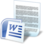 64x64px size png icon of document word