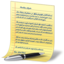 64x64px size png icon of document yellow