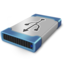 64x64px size png icon of drive usb