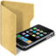 64x64px size png icon of folder iphone