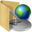 64x64px size png icon of folder url history