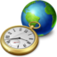 64x64px size png icon of network clock