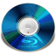 64x64px size png icon of Hardware Blu ray disc