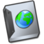 64x64px size png icon of Document globe
