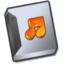 64x64px size png icon of Document sound