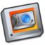 64x64px size png icon of Folder camera