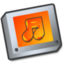 64x64px size png icon of Folder sound