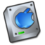 64x64px size png icon of Harddrive apple