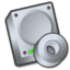 64x64px size png icon of Harddrive cdrom