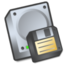 64x64px size png icon of Harddrive floppy