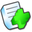 64x64px size png icon of New document