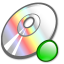 64x64px size png icon of Cdrom mount
