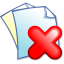 64x64px size png icon of Edit delete