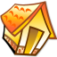 64x64px size png icon of Folder home