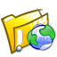 64x64px size png icon of Folder html