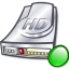 64x64px size png icon of Hdd mount