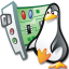 64x64px size png icon of Linux conf