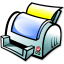 64x64px size png icon of Print manager