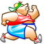 64x64px size png icon of Run