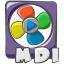 64x64px size png icon of filetype movie mdi