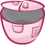 64x64px size png icon of pot open