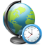 64x64px size png icon of Network time