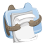 64x64px size png icon of folder document