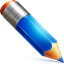 64x64px size png icon of pencil