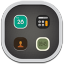 64x64px size png icon of folder system