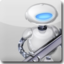 64x64px size png icon of Automator White