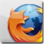 64x64px size png icon of Firefox White