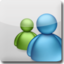 64x64px size png icon of MSN White