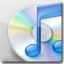 64x64px size png icon of iTunes White