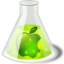 64x64px size png icon of Lime apple