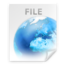 64x64px size png icon of Location FILE