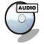 64x64px size png icon of cd audio