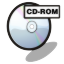 64x64px size png icon of cd rom