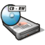 64x64px size png icon of cdrw drive